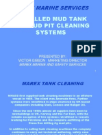Marex Mud Tank Cleaning
