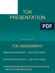 The TOK Presentation