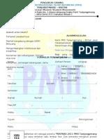 formulir PMII
