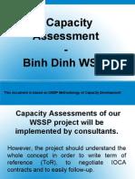 UNDP - Capacity Assessment Binh Dinh WSSP