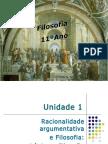 UNIDADE I - Capítulo I Noçôes de Lógica Formal - a lógica aristotélica