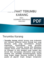 Manfaat Terumbu Karang ( Power Point