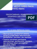 50863815 Dekontaminasi Pembersihan Disinfeksi Depkes
