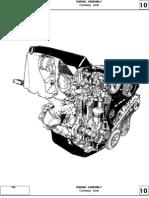 Cross section F8M F8Q engine repair (Motor diesel F8M F8Q Dacia papuc solenza 1307)