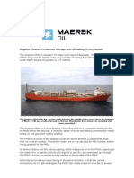 Gryphon FPSO and Incident Factsheet
