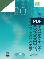 La educación en Iberoamérica 2011