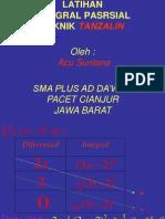 Integral Parsial Tanzalin