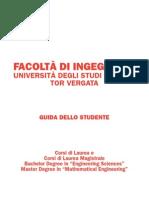 Guida dello studente 2011-2012