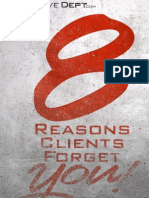 8 Reasons Clients Forget You