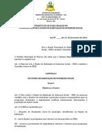 PROJETO DE LEI Nº FHIS