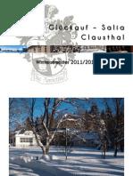 Wintersemesterprogramm 2011 / 12