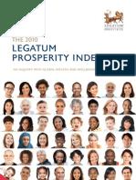 Legatum Prosperity Index