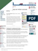 At25 Infosys An Indian Success Story