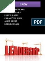 Leadership. Current