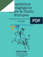 Cuadernos pedagógicos sobre la Unión Europea