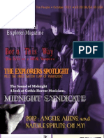 Paranormal Explorer Magazine - October Issue