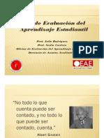 Ciclo de Assessment Del Aprendizaje Estudiantil