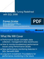 Performance Tuning | Microsoft Sql Server | Data Warehouse