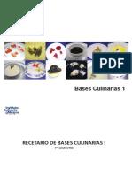 Bases Culinarias 1 - Instituto Culinario de Mexico
