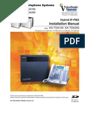 kx-tda200 usb driver download