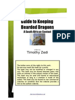 Guide to Keeping Bearded Dragons a South African Context