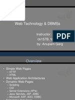 Web Technology DBMSs