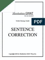 Manhattan Sentence Correction