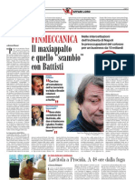 Battisti-Finmeccanica, da il FattoQ del 02-10-2011