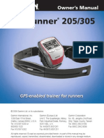 Manual Forerunner 305 Ingles