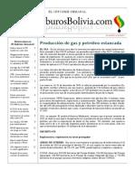 Hidrocarburos Bolivia Informe Semanal Del 26 Septiembre Al 02 Octubre 2011