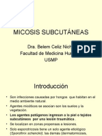 Micosis SubcutÁneas Clase
