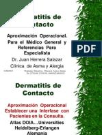 Dermatitis de Contacto2011