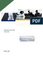 Guia PDF Access Orinoco 7700