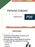 Feminist Theory Spring 2011