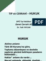 Tıp ve Cerrahi - Hukuk