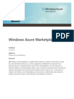 Windows Azure Marketplace Whitepaper