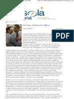 Marco Respinti, «Unioni gay, la Chiesa contro Obama», in «La Bussola Quotidiana», Milano 03-10-2011
