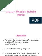 Mumps, Measles, Rubella (MMR)06-07