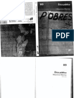 Etica Pública EAPDF, Mauricio Merino