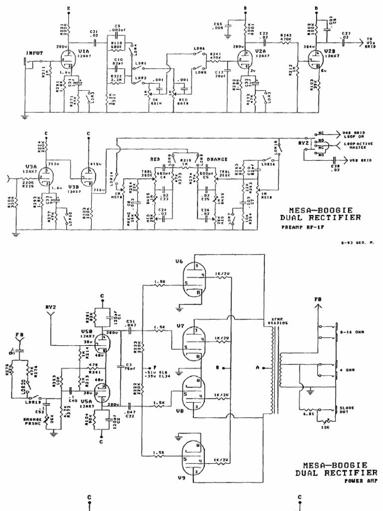 U305c U3044 U305f U304f Mesa Boogie Dual Rectifier Schematic