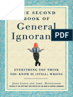 The Second Book of General Ignorance by John Lloyd and John Mitchinson - Excerpt 2