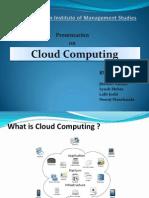 Cloud Computing Present a Ion