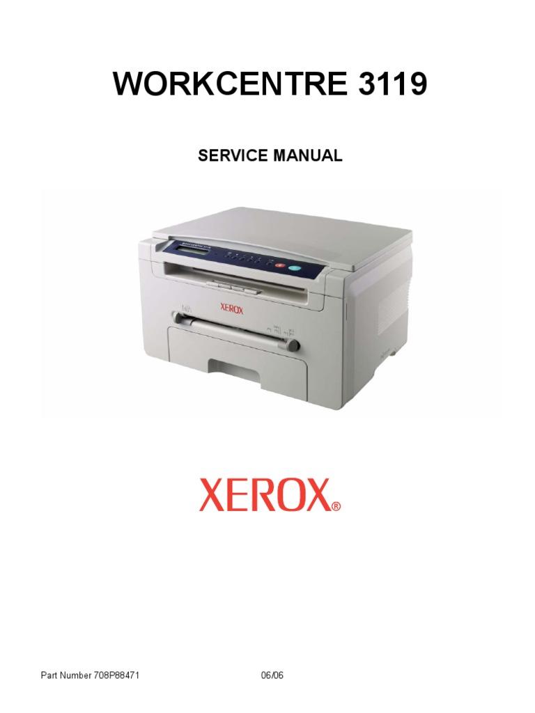 Инструкция заправка xerox 3119