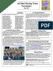 Lead Butt Newsletter July 2007