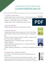 Llistat Llibres, Dvd's i CD's d'Adults + Infantslsetembre