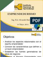 Charla Emprendedurismo