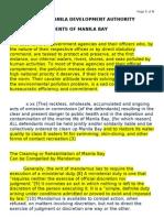MMDA vs Concerned Residents of Manila Bay