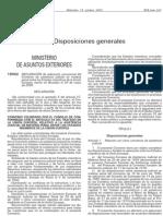 Ley Aplicación Convenio Penal 2000