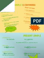 Present Simple vs Continuous