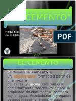 EL CEMENTO PP